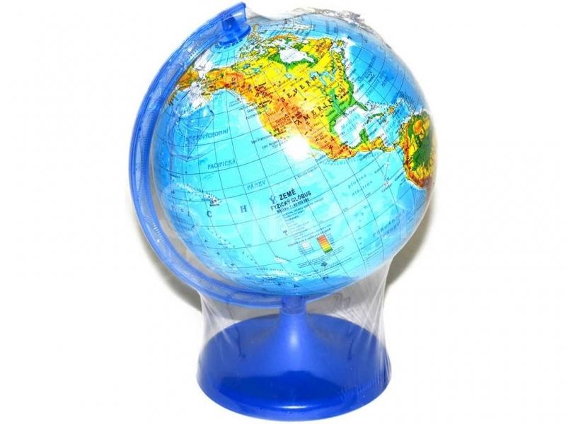 Globus Zemepisny Plastovy Mapa Sveta 16cm Maly V Sacku 040440